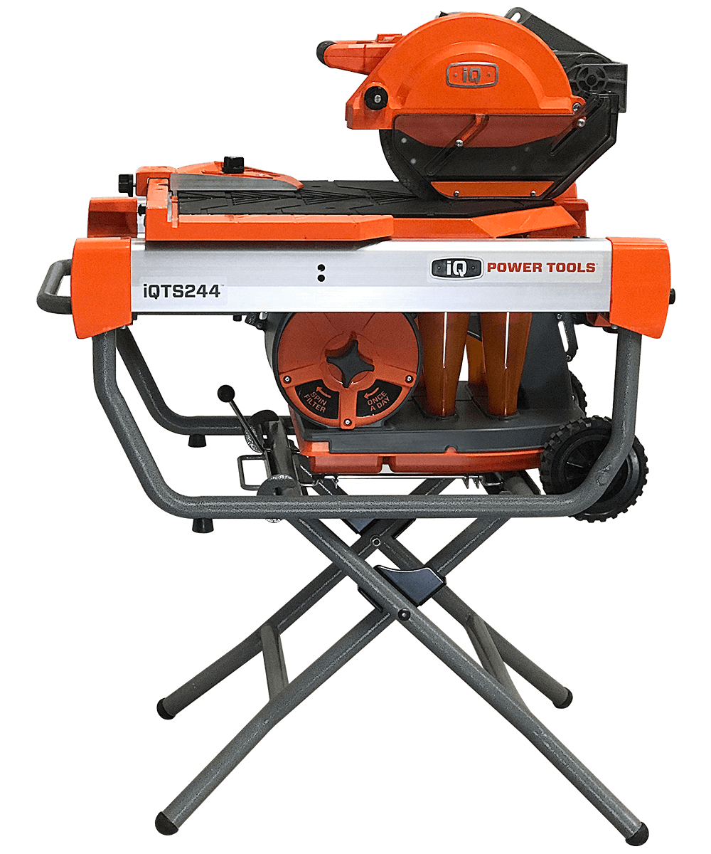 Iqts244 Dry Cut Tile Saw With Stand Sawcutting Specialties