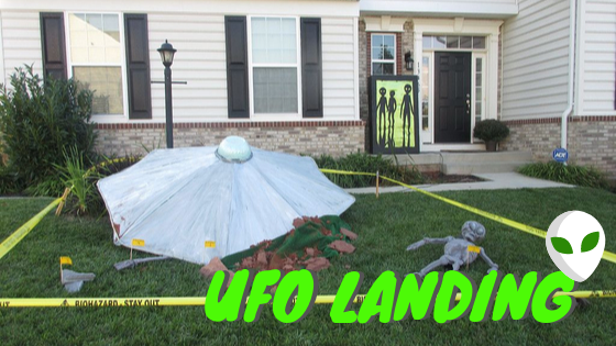 UFO Landing Halloween