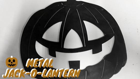 Metal Jack-O-Lantern Halloween