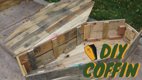 DIY Coffin Halloween