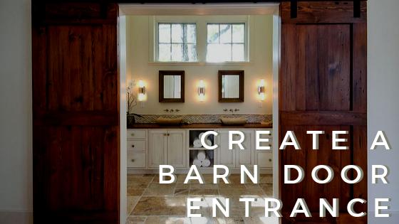 Barn Door Entrance Fall