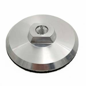 GYRO aluminum backer pad